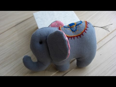 How To Make an Elephant with Embroidery - DIY Crafts Tutorial - Guidecentral