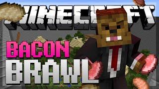Minecraft PIG SLAM BACON BRAWL w/ JeromeASF&Friends!