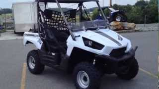 2. 2013 Kawasaki Teryx 750 FI 4x4 LE in Metallic Stardust White at Tommy's Motorsports