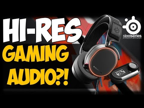 HI-RES GAMING AUDIO?! SteelSeries Arctis Pro + GameDAC Review