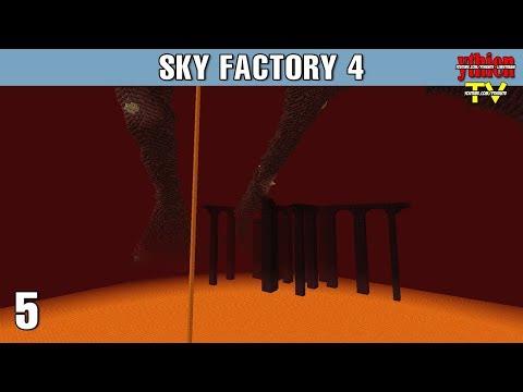 Sky Factory 4 05 - Nether Thật Dữ Dội - Thời lượng: 39 phút.