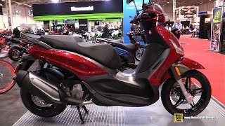 10. 2018 Piaggio BV 350 Scooter - Walkaround - 2018 Toronto Motorcycle Show