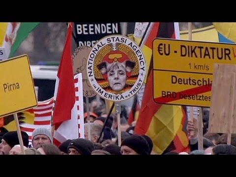 Pegida a rassemblé plus de 20.000 personnes à Dresde ce dimanche (Màj vidéo)