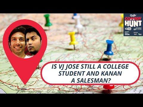 Is Vj jose still a college student & Kanan a salesman? | Comedy Hunt