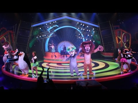 Madagascar - We were there for the media preview of Madagascar Live! Operation Vacation at Busch Gardens Tampa! This is the full show, but you won't get the full effect u...