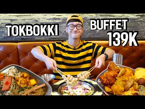 Cầm 139K đi ăn BUFFET LẨU DOOKKI TOKBOKKI siêu hot // SERIES NINH EATING ĂN GÌ #72 - Thời lượng: 16:23.