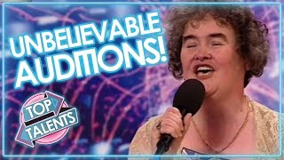 Incredible voice singing auditions that shocked & surprised the world on X Factor, Got Talent & Idols. ▷   Includes Susan Boyle, James Arthur & MORE!