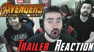 Video Infinity War Angry Trailer Reaction MP3, 3GP, MP4, WEBM, AVI, FLV Maret 2018