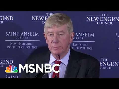2020 Vision: Meet Bill Weld, President Donald Trump's Primary Challenger | MTP Daily | MSNBC