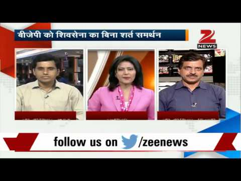 Shiv Sena to join BJP without conditions 21 October 2014 09 PM