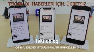 teknoblog ios ve android uygulamaları: teknoloji haberleri elinizin altında