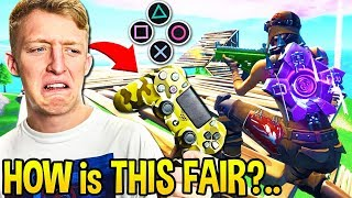 Tfue Shows *PROOF* CONTROLLER Has LESS RECOIL Than MOUSE in Fortnite!
