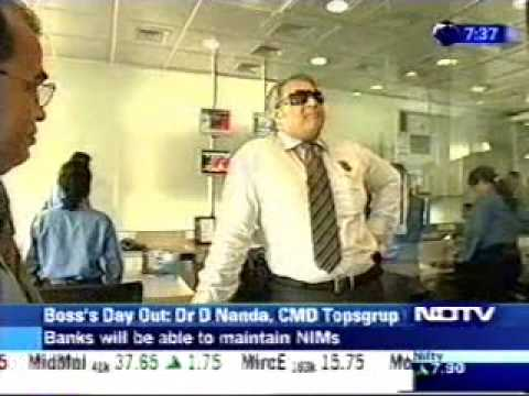 Dr. Diwan Rahul Nanda in Boss's Day Out on NDTV Profit Part 1 of 2