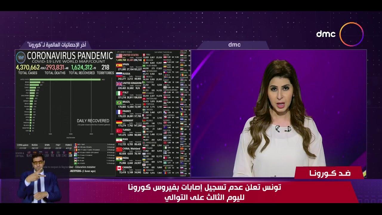 نشرة ضد كورونا - تونس تعلن عدم تسجيل إصابات بفيروس كورونا لليوم الثالث على التوالي