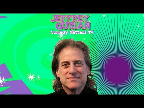 RICHARD LEWIS :: Comedy Matters interview by Jeffrey Gurian (PART 1)