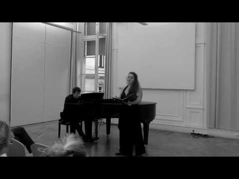 Concert Schumann (extraits 8/9/2016)