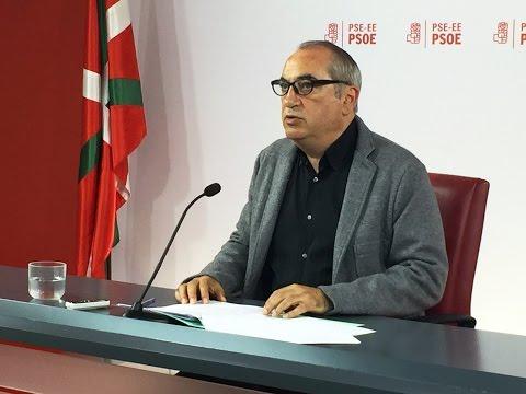 Iñaki Arriola hace balance del proceso de participación ciudadana en el programa electoral del PSE-EE [2016.05.17]