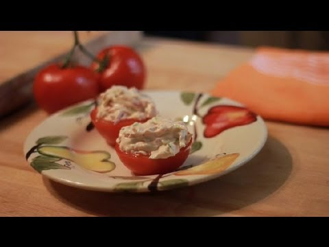 Recipe for Cheese & Vegetable-Stuffed Tomatoes : Vegetable Recipes, Dips & More