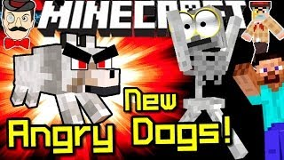 Minecraft WOLVES HATE SKELETONS! New in 14w10b Snapshot!