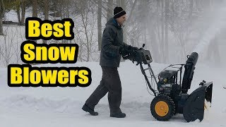 8. ▶�Best Snow Blowers in 2018 | 10 Best Snow Blowers 2018