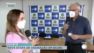 Pessoas de 30 a 39 anos com comorbidades já podem se vacinar em Bauru