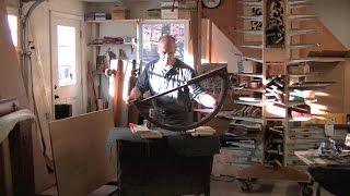 Repairing an Antique Card Table's Broken Leg