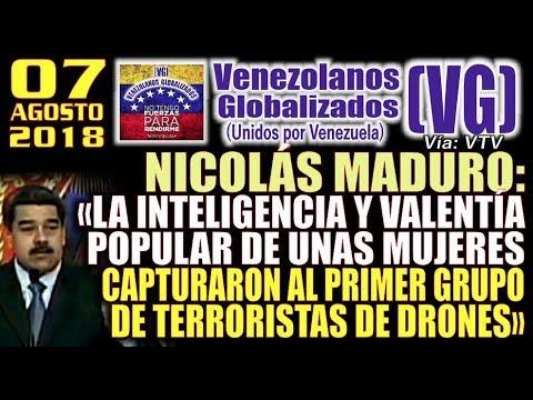 Videos de uñas - 7/8/18– Maduro: «La lNTELlGENClA y VALENTÍA de unas mujeres CĄPTURAR0N al 1.er grupo de TERR0RlSTAS»