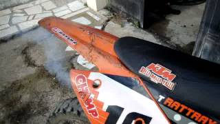 5. 2005 KTM SX 125 - Tyla Rattray Edition