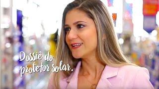 Dossiê do protetor solar