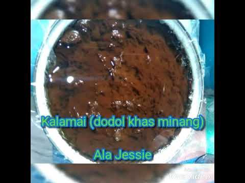Tips Membuat Kalamai/Galamai (dodol khas minang) Ala Jessie