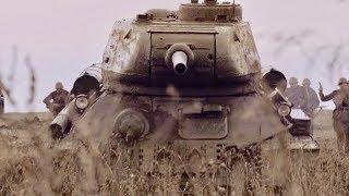 T-34vsティーガーの壮絶バトル!史上最大の戦車戦に挑んだ兵士たち/ドラマ『タンク・ソルジャーズ』DVD-BOX予告編
