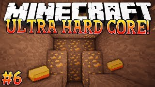 GOLD MINE! - Ultra Hardcore (Minecraft Ultra Hardcore Mod) - #6