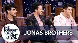 Video Jonas Brothers on Reuniting, Marriages and Drinking as Therapy (Extended Interview) MP3, 3GP, MP4, WEBM, AVI, FLV Juni 2019