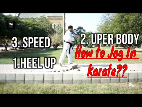 Lesson No 3 (part 1) | How To Jog In Karate For Beginners | Karate Tutorials | Urdu / Hindi
