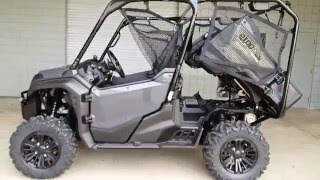 9. 2016 Honda Pioneer 1000-5 Deluxe (Silver) Walk-Around | Side by Side | Review at HondaProKevin.com