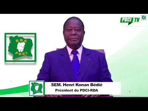 Message de nouvel an 2020 de Son Excellence Henri Konan BEDIE, Président du PDCI-RDA.