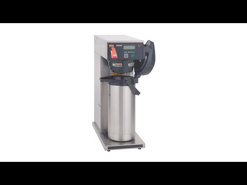 BUNN DV APS Axiom Dual Voltage Airpot Coffee Brewer with LCD Review