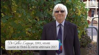 Dr Gilles Lepage, D.M.V. retraité