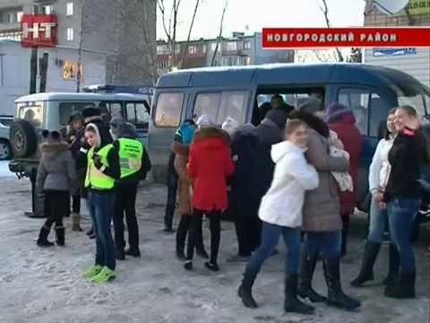 Молодежный флешмоб прошел накануне вечером в поселке Панковка