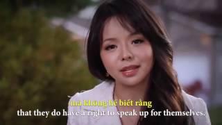 Màn phỏng vấn ấn tượng của Hoa hậu Canada Anastasia Lin