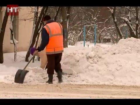 Представители мэрии провели специальный брифинг, посвященный уборке улиц от снега