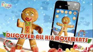 Talking Gingerbread Man Free YouTube video