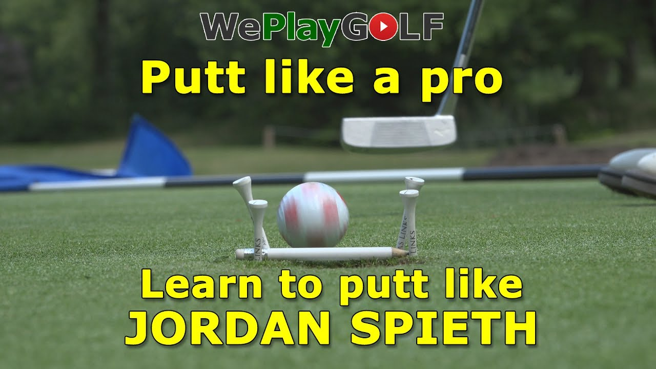 Learn to putt like Jordan Spieth: Knock down every putt within one meter