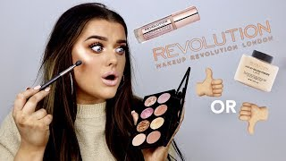 Video FULL FACE OF MAKEUP REVOLUTION - HIT OR MISS? | Rachel Leary MP3, 3GP, MP4, WEBM, AVI, FLV Januari 2018