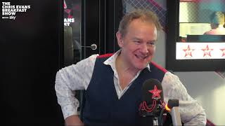 Hugh Bonneville on The Chris Evans Breakfast Show