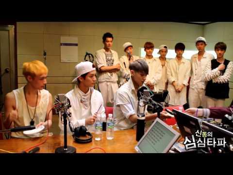 신동의 심심타파 - EXO, Challenge - 엑소, 스타의 도전 20130607 (видео)