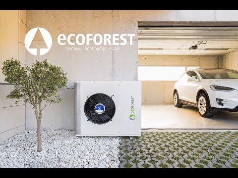 La nueva bomba de calor aerotérmica de Ecoforest