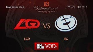 Evil Geniuses vs LGD.cn, game 1