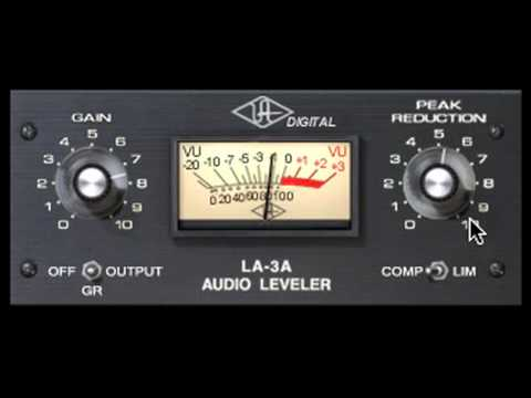 UAD LA-3A Powered Plug-In Demo Video
