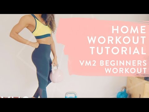 BOOTY BUILDING HOME WORKOUT | VM2 of the Vertue Method | Shona Vertue